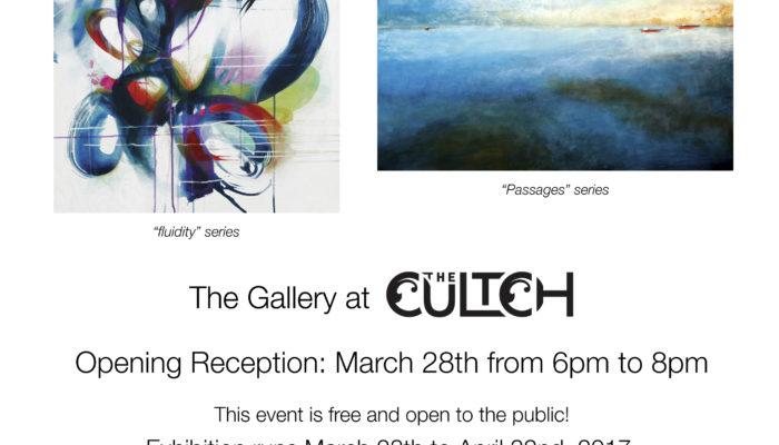Cultch gallery exhibition Vancouver BC March 28/17